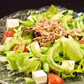 料理メニュー写真がちま家サラダ