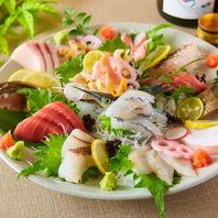 旬のお刺身や金華サバ、田舎蕎麦などこだわりの料理!