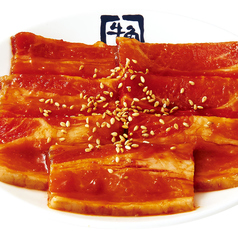 料理メニュー写真三元豚カルビ (タレ・塩ダレ・味噌ダレ)