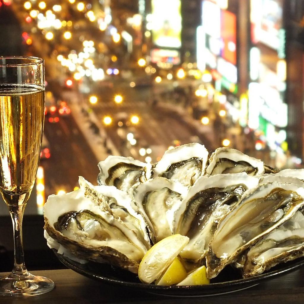 ルンゴカーニバルといえば、厚岸産生牡蠣が毎日100円!牡蠣×全道各地からの魚介×☆夜景☆