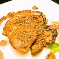 料理メニュー写真鳥モモ肉のガーリックバターソース