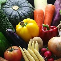 みずみずしく甘みを含んだ新鮮な季節野菜を使用!