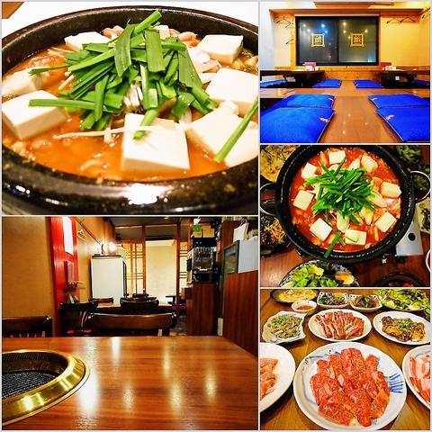 本格韓国料理をリーズナブルなお値段で提供♪ご家族連れも歓迎です。