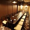 14~18名様、6~8名様用個室あり♪宴会・飲み会・合コン・女子会・歓送迎会などに最適な個室席です!各種コース料理は4000円~ご堪能いただけます!野菜巻き串や出汁しゃぶなど、獅子丸自慢の料理をふんだんに使ったコースで大変おすすめです♪