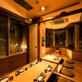 会社の宴会や飲み会などには池袋の夜景の見える個室がおススメです!でごゆっくりおくつろぎくださいませ。