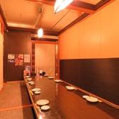 5名~10名様用の掘り炬燵個室。