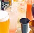 飲み放題はもちろん生ビールOKです!女子に人気のカクテル・果実酒も豊富♪