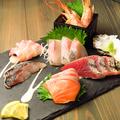 料理メニュー写真鮮魚の刺盛り