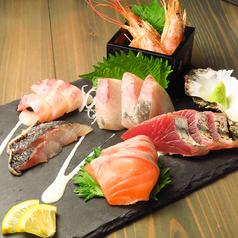 鮮魚の刺盛り
