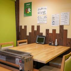 感染対策★各テーブルにはご注文用のタブレットを設置しております。