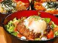 料理メニュー写真ロコモコ丼