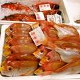 新鮮な鮮魚が自慢のお店♪宴会メニューも各種ご用意!!