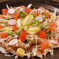料理メニュー写真サラダ感覚でいただきます!仙台牛炙りカルパッチョ