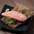 料理メニュー写真【希少】ブ厚いミスジステーキ