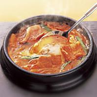 韓国料理の辛さはいろいろ調節できます!
