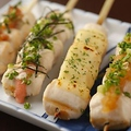 料理メニュー写真おまかせ串焼8本盛
