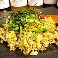 料理メニュー写真牛タンと大葉のチャーハン/じゃこと枝豆の柚子こしょうチャーハン