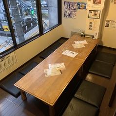 8~10名様でご用意しております。完全個室になりますので、周りを気にせずお食事をお楽しみください♪