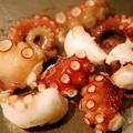 料理メニュー写真明石タコの塩焼き or ガーリックバター焼き