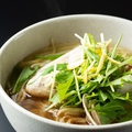 料理メニュー写真とらふぐと蛤のラーメン