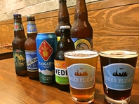 クラフトビールが常時10種類◎