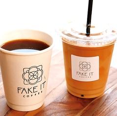 FAKE IT COFFEE フェイク イット コーヒーの写真