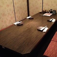 写真は2~6名様席