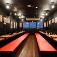 店内は、昭和初期の昔懐かしい活気ある居酒屋です。会社宴会、打ち上げ、合コン、追いコン、女子会など各種シーンにご利用最適な半個室あり♪
