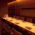 間接照明が彩る大人の完全個室空間