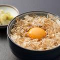 料理メニュー写真土佐ジロー&宗田節の究極卵かけごはん