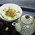 料理メニュー写真お茶漬け(梅/鮭/明太子)