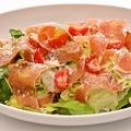 料理メニュー写真プロシュートとルッコラのサラダ