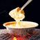 料理メニュー写真チーズフォンデュde チキンバジル