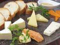 料理メニュー写真チーズの盛り合わせ 5種