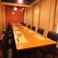 【20名様~の完全個室】団体専用個室は50名様までご利用可能。歓迎会や送別会、忘年会や新年会等各種ご宴会にご利用ください。飲み放題内容には地酒も充実。こだわりのお料理と種類豊富なお酒でお食事をお楽しみください。