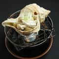 料理メニュー写真活つぶ貝焼き