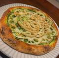 料理メニュー写真土浦蓮根のジェノベーゼPIZZA