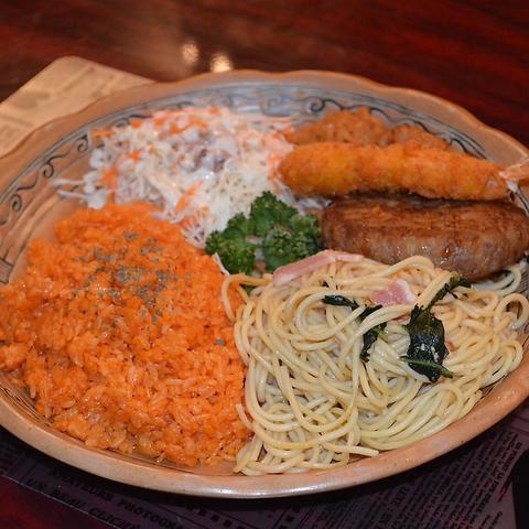 Swing Duckオリジナル5種のお料理がプレートセットに★Duck Lunch Cコース 1000円(税込)