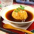 料理メニュー写真山芋と鶏そぼろのおまんじゅう