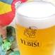 生ビールは上質なエビス★飲み放題の内容にも含みます