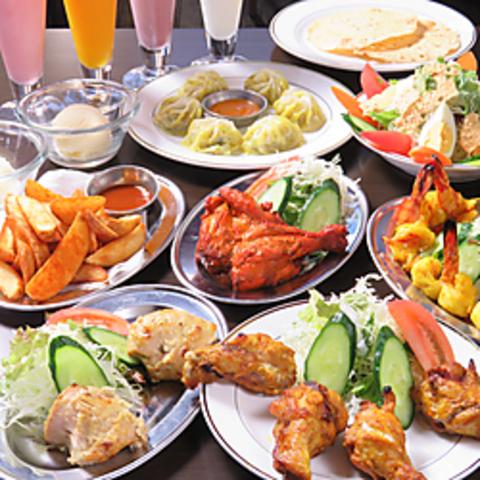 ジャーハン インドネパール料理 蒲生店