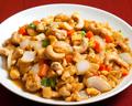 料理メニュー写真鶏肉と唐辛子炒め