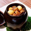 料理メニュー写真牛スジの秘伝タレ壷煮[四川]