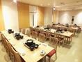最大50名様までご利用可能なテーブル個室
