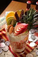 料理メニュー写真アメリカンドリームパフェ