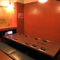 8名様以上個室完備☆宴会のご予約も承っております!