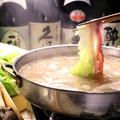 料理メニュー写真長野県産 高原レタスのコラーゲン豚しゃぶしゃぶ
