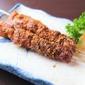 料理メニュー写真ラム肉串焼き