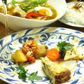 料理メニュー写真タパス3品盛り+ハーフスープカレー 90分飲み放題付きプラン