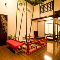 京の町屋のイメージが似合う洗練された雰囲気も抜群です